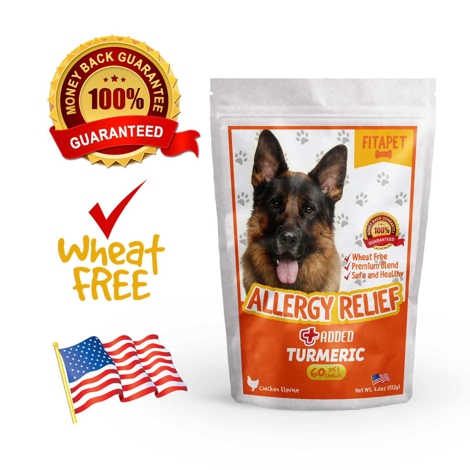 Wheat Free and Made in USA